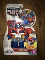 Transformers Recue Bots Optimus Prime In Retail Original Box Action Figure Toy