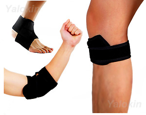 Elbow Brace Strap, Runner's Knee Strap, Ankle Strap for Recovery, Injury (ST5)