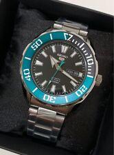 SRPC53J1 Automatic Green Black Bezel Silver Steel Japan Made Watch
