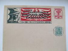 ERSTE INTERNATIONALE EINFUHR-MESSE  FRANKFURT  A/M  1-15 OKTOBER 1919 COVER