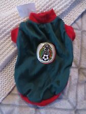 Team Mexico New Pet Clothing Super Cute For Small/Medium Dogs Or Big Puppies