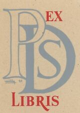 Ex Libris Willy Braspennincx : Opus 21, PDS (Paul de Samblan)