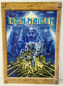 Iron Maiden Somewhere Back In Time World Tour Concert Program 2008