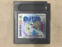 Nintendo Gameboy Color Pokemon Silver Japan GB GBC F/S