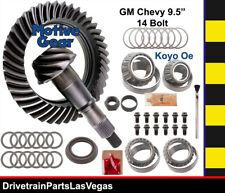 GM Chevy 9.5 14 Bolt Ring Pinion Gear Set 3.73 Master Kit 02 - 09 Hummer H2 +
