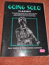 Going Solo Clarinet Paul Harris