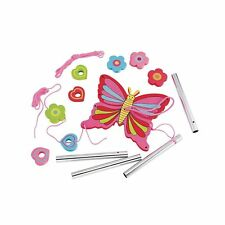 ELC 'Make Your Own' Butterfly Windchime Arts & Crafts Fun Creative Thread Chime