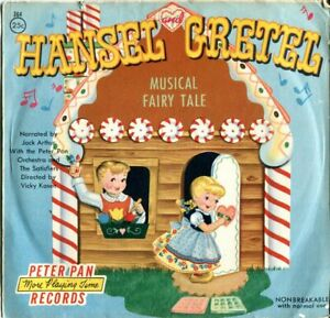 1954 Hansel And Gretel Musical Fairy Tale - Peter Pan Records 78 RPM