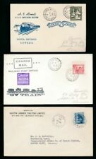 Railway/RPO Used North American Stamps