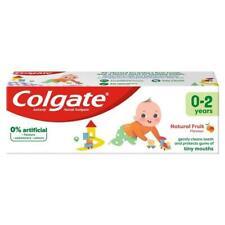 Colgate Kids Toothpaste Natural Mild Fruit 50ml Baby 0-2 years