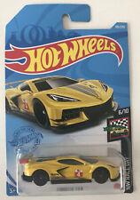 2021 Hot Wheels HW RACE DAY 6/10 Corvette C8.R 105/250 Yellow New in Package!