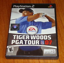 Tiger Woods PGA Tour 07 2007 Sony Playstation 2 PS2 Complete