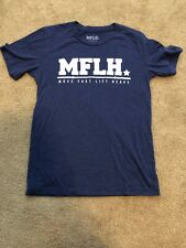 Move Fast Lift Heavy Shirt Small Barbell MFLH Crossfit Weightlifting
