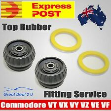 2 Front Rubber Top Strut Mount + Bearing Kit Holden Commodore VT VX VY VZ VE VF