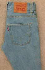 Levis 511 Slim Fit Denim Jeans Mens W30 L30 Blue Red Tab #2