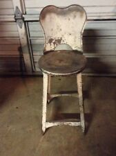 Metal CHILDS Chair/ An Antique