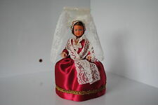 (N°10) ANCIENNE POUPEE FOLKLORIQUE DOLL PHILIPPE PETITCOLLIN NORMANDIE ISIGNY