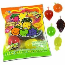 Tik Tok Din Don Bag of Fruity's Snack Jelly Fruit 11.03 oz 8 pieces