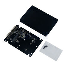 MSATA Mini-SATA SSD 2,5 IDE adaptateur convertisseur avec 9.5mm Case BA