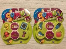 Gomu Series 2 Set of 6 Erasers Please See The Picture For Detail