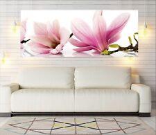"""Glasbild, Bild aus Glas, 125 x 50 cm Motiv """"0102_Blumen"""""""