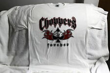 CHOPPERS FOREVER DICE SPADE FLAMES T-SHIRT