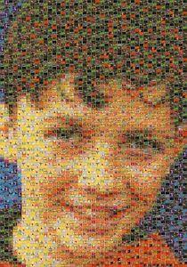 Stunning personalised art mosaic using Pokemon cards. Ideal gift!
