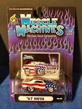 MUSCLE MACHINES '67 CHEVY NOVA 02-82 USA COLORS