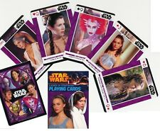 STAR WARS WOMEN 55 SEXY PLAYING CARDS POKER BABES DECK PADME LEIA CARRIE FISHER