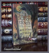 Scary Stories to Tell in the Dark by Alvin Schwartz New Sealed 3 Volume Box Set