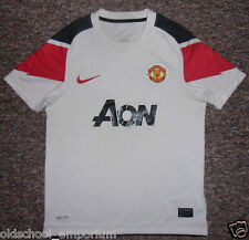 Manchester Utd / 2010-2011 Away - NIKE - JUNIOR Shirt./ Jersey. 10/12y, 140-152