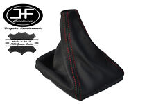 RED STITCH FITS MERCEDES E CLASS W123 1976-1985 MANUAL GEAR GAITER LEATHER