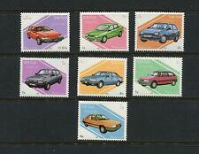 Laos  1987  #797-803  autos cars  transport  7v.  MNH  G399