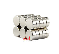 30pcs Strong 6mm Diameter x 3mm Thickness Small Neodymium Disc Magnets