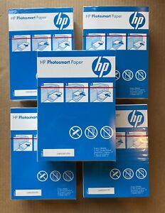 "5 Pack of 220 Sheet HP 5x7"" Vivid Photo Media Glossy Photo Paper - 1100 Total"