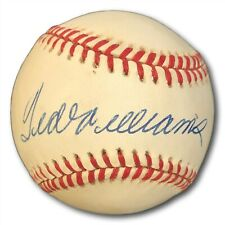 Ted Williams Signed Autographed OAL Baseball Red Sox PSA/DNA