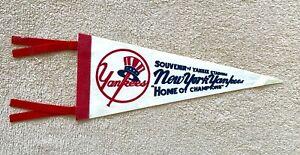 "Vintage Yankee Stadium New York Yankees Home of Champions 12"" Mini Pennant"