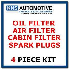 PEUGEOT 207 1.4 16V BENZINA 07-12 spine, olio, aria & Cabin Filter Service Kit p24bp