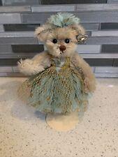 """Annette Funicello Mitzi 7 1/2"""" Mohair Bear 1997 Ballerina Collection"""