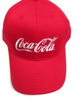 Coca-Cola 100% Cotton Baseball Cap Hat - BRAND NEW!