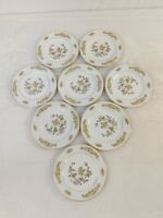 """G9 Fine China of Japan Style House Indore Pattern Salad Plate (Set of 8) 6.5"""""""