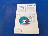 1989 Skidoo Cheyenne Voyageur Escapade Printed Snowmobile Owners Manual ORIGINAL