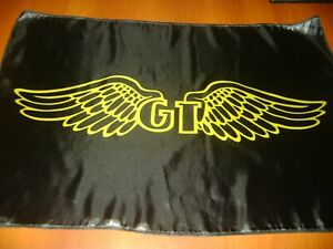 GT Logo 20x30 Flag Banner Show Garage Vintage BMX Flag GT Wings Bicycle Classic
