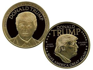 DONALD TRUMP - BUSINESS COMMEMORATIVE COIN PROOF VALUE $99.95