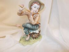 "Lefton Figurine ""Tom Sawyer"" Figurine Playing Flute"