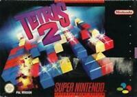 Tetris 2 Super Nintendo Game SNES New