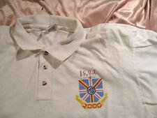 South GOF XXXIV Classic Car MG 2000 golf polo shirt LG