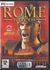 PC DVD • Total War Rome Roma COMPLETAMENTE IN ITALIANO NO RISTAMPA RARISSIMO
