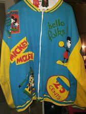 Rare Vintage Xl Mickey Mouse Disney Jacket