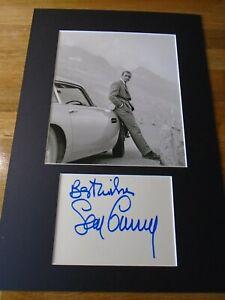 Sean Connery James Bond Genuine Signed Authentic Autograph - UACC / AFTAL.